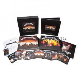 Master Of Puppets (Deluxe BOXSet 3LP Vinyl/10CD/Cassette/2DVD/Book)