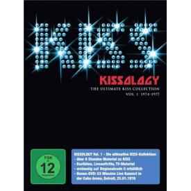 Kissology: Kiss Collection Vol. 1 1974-1977 [3DVD]
