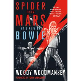Spider from Mars: My Life with Bowie (Woody Woodmansey - Book)