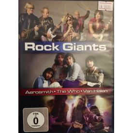 Rock Giants (Aerosmith-The Who-Van Halen) DVD
