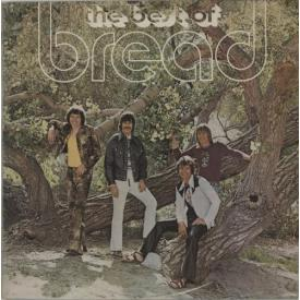 BREAD The Best Of (LP USADO 1972 12-track compilation)