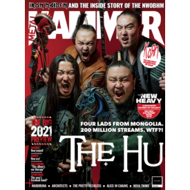 Metal Hammer Magazine February 2021: THE HU COLLECTORS COVER Iron Maiden Korn